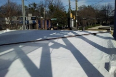 This is another shot of a completed commercial roofing job we had in Buckhead, Georgia .