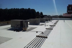 Completed Commercial Roofing Projects.