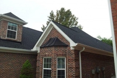 Completed roof replacement project in Stockbridge, GA.