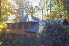 Completed roof replacement project in Dunwoody, GA.