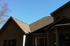 Completed roof replacement project in Marietta, GA.
